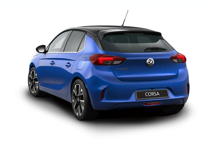 Vauxhall Corsa Hatch 5Dr Elec 50kWh 100KW 136PS Corsa-e Elite Nav 5Dr Auto [7.4kW Charger] back view