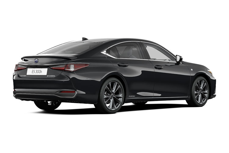 Lexus ES 300h Saloon 2.5 h 218PS F-Sport 4Dr E-CVT [Start Stop] back view