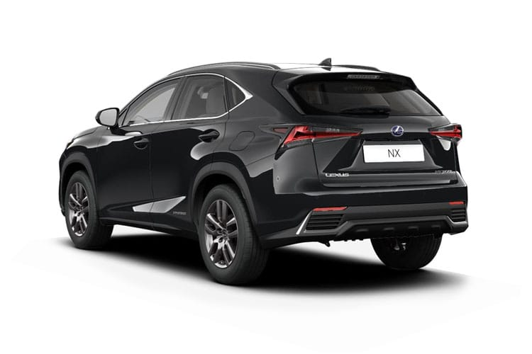 Lexus NX 300h SUV 4wd 2.5 h 197PS F-Sport 5Dr E-CVT [Start Stop] [Pan Roof] back view