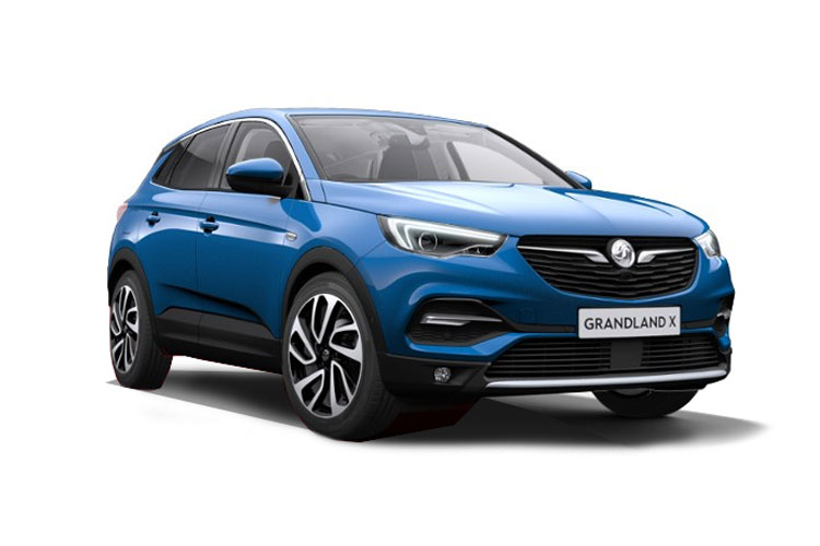 Vauxhall Grandland X SUV 1.2 Turbo 130PS Elite Nav 5Dr Manual [Start Stop] front view