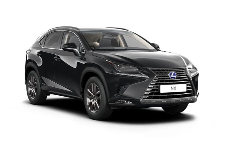 Lexus NX 300h SUV 4wd 2.5 h 197PS F-Sport 5Dr E-CVT [Start Stop] [Pan Roof] front view