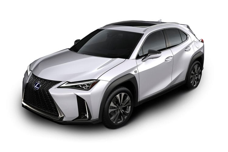 Lexus UX 250h SUV 2.0 h 184PS F-Sport 5Dr E-CVT [Start Stop] [Prem Plus Tech Safety SRoof] front view