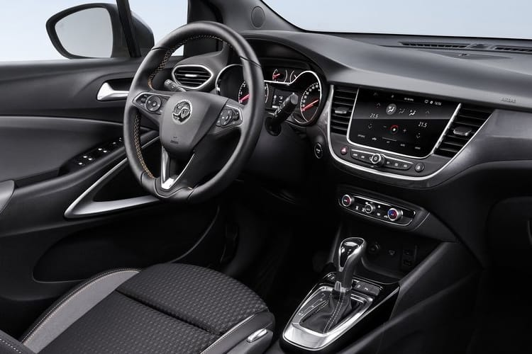 Vauxhall Crossland X SUV 1.2  83PS Griffin 5Dr Manual [Start Stop] inside view