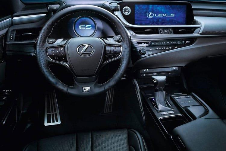 Lexus ES 300h Saloon 2.5 h 218PS F-Sport 4Dr E-CVT [Start Stop] inside view